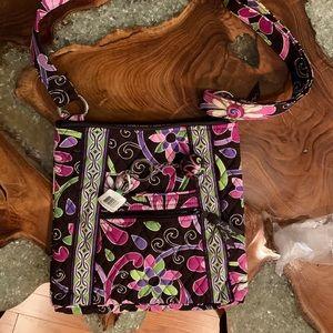 Vera Bradley Shoulder bag WITH fob-both NWT